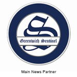 Greenwich Sentinel with tag line