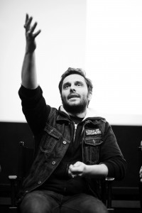 Actor Pio Marmaï provided great insights during Q&As with the audience - Photo by Stephane Kossmann