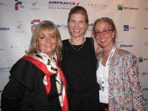 Catherine Laleuf, Anne Kern and Renee Ketcham at the Opening Night Gala - Photo by Cutty McGill