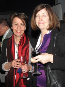 Festival Founder Catherine Lamairesse (left) at the Opening Night Gala - Photo by Cutty McGill