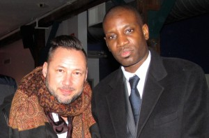 Producer Fabien Coste and Director-Hip Hop Star Abd Al Malik at the Opening Night Gala - Photo by Cutty McGill