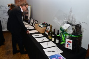 Silent Auction at the Opening Night Gala - Photo by Christopher Semmes