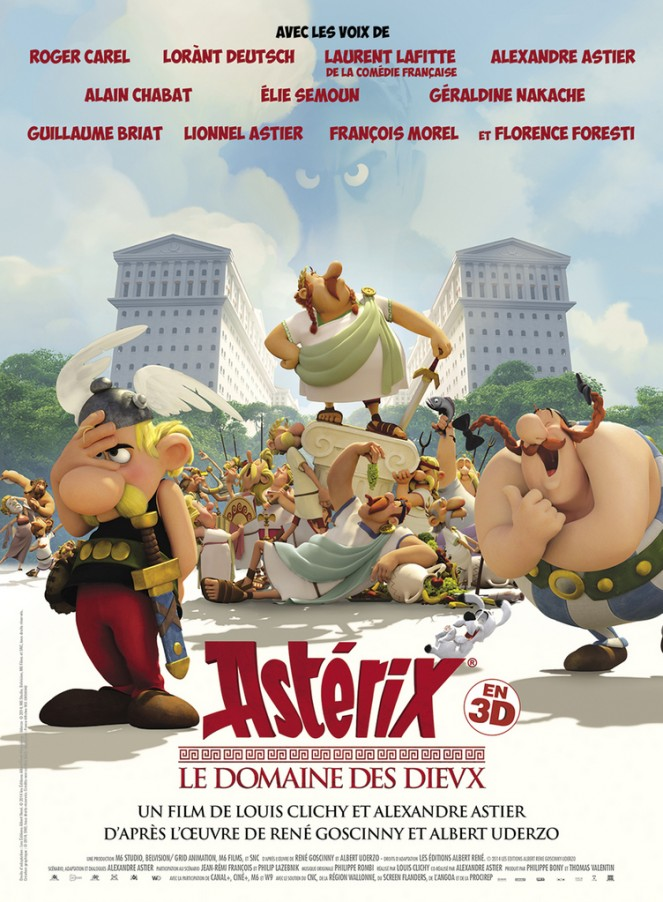 Asterix and the Land of the Gods (Astérix - Le domaine des dieux)