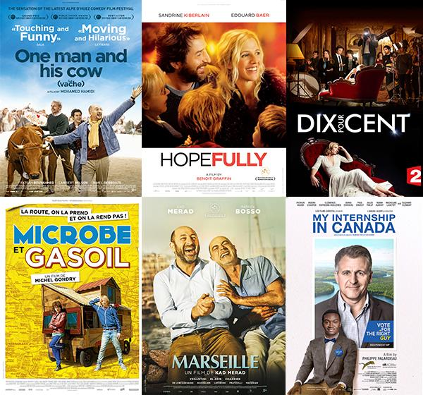 6 AWARD-WINNING COMEDIES AND Q&As