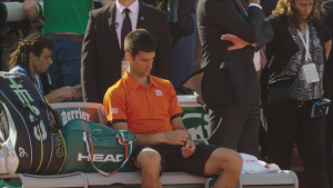 In the French - Djokovic