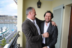 29 - Director Christian Carion and Actor Matthew Rhys were reunited ... - Photo by Stéphane Kossmann