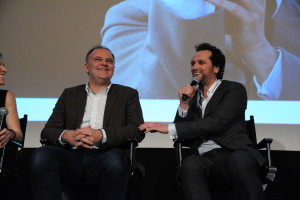 39.5 - Director Christian Carion and Actor Matthew Rhys participated in a Q&A after the Opening Night movie Come What May (En mai fais ce qu'il te plaît) - photo by Stephane Kossmann