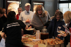 48 - ... Lunch donated by Le Pain Quotidien - Photo by Eve Comperiati