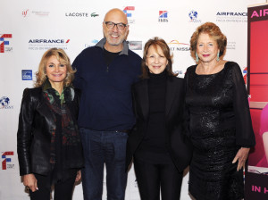 93 - Carmen Debbane, Carlos Chahine, Nathalie Baye and Marie-Monique Steckel during the Closing Night at the French Institute Alliance Française (FIAF) in Manhattan - Photo by Stéphane Kossmann