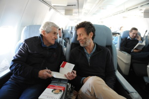 The director flew with Philippe Azoulay, who screened a special excerpt of his upcoming documentary on Claude Lelouch, Shoot to Live (Tourner pour vivre) at FFC 2017 (credit - Stephane Kossmann)