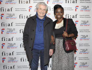 joined by several festival guests, including the actress Aïssa Maïga (credit - Stephane Kossmann)