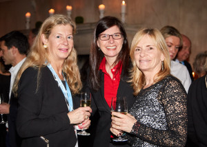 FFC Team Members Beatrice Vornley & Sylvie Fortin, with Pascale Butcher (credit - Elaine Ubina)