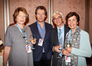 Marie-Monique Steckel, Antoine Bleck, Etienne and Catherine Lamairesse (credit - Elaine Ubina)