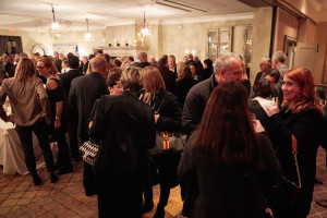 The Greenwich Opening Night festivities started on Friday at L'escale Restaurant Bar (credit - Elaine Ubina)