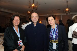 Day1-Opening Gala Director Natalie Fuchs Screenwriter Alain Zenou and Sylvie Sergent © 2018 Rosemary Haidari